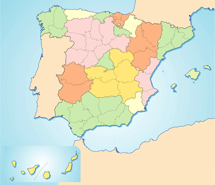 Provincias De España By Davidperez On Genially