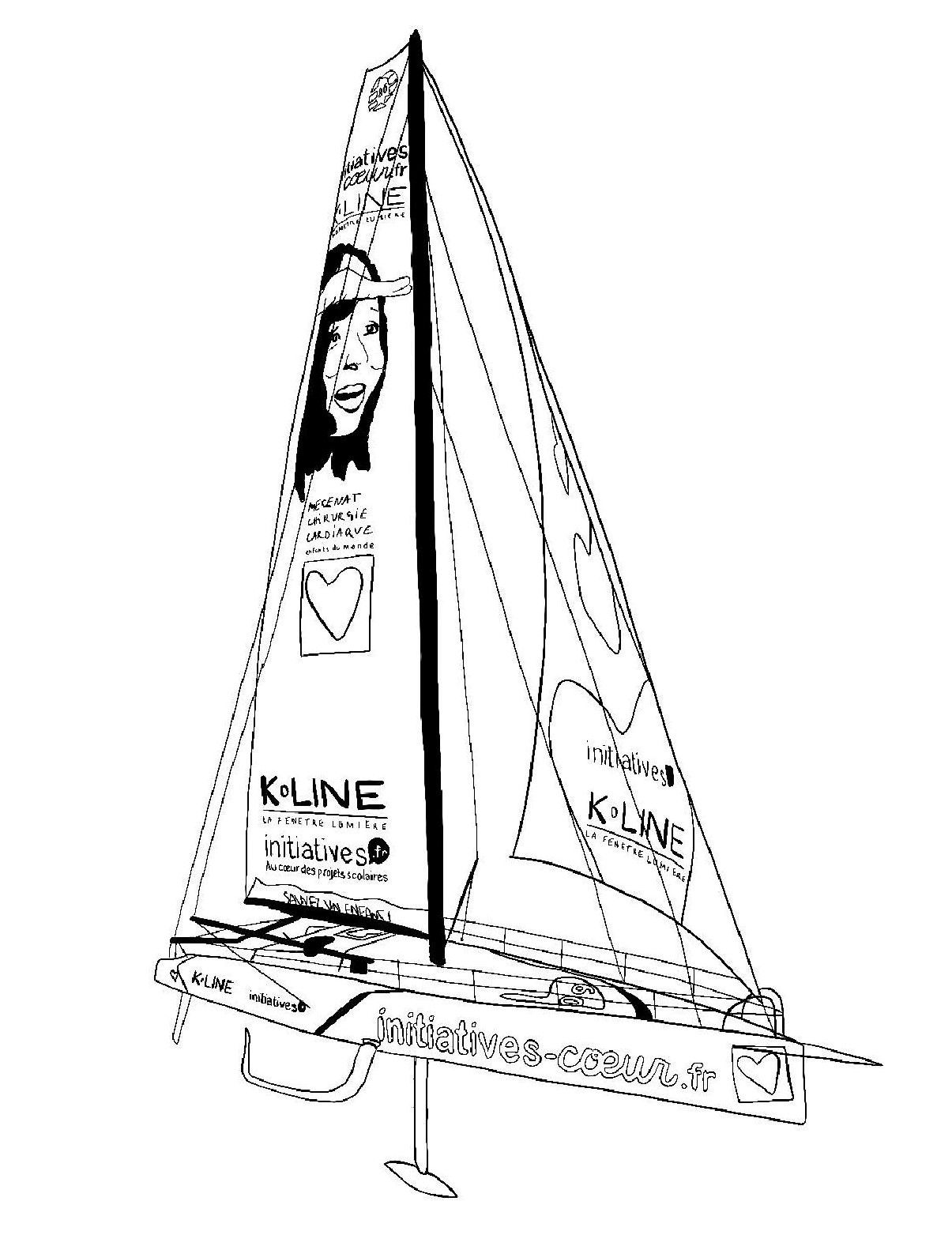 Vendee Globe Voilier By Nathalie Trukbidule Massey Lefebvre On Genially