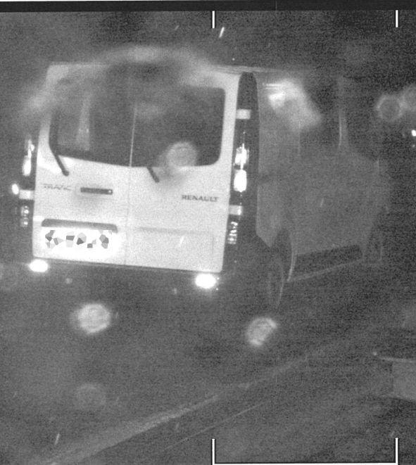 El conductor de una furgoneta cazado a 184 km/h prueba que la Borrasca Gloria alteró un Radar en Mallén